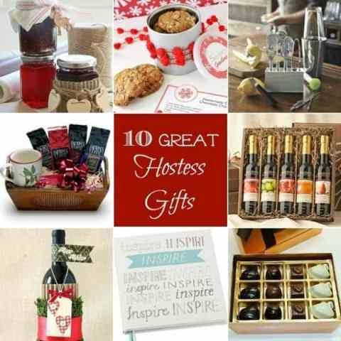 10 Great Hostess Gifts