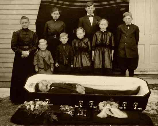 Funeral back in the day