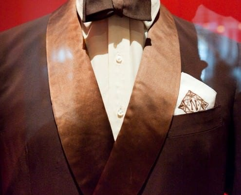Noel Cowards Brown Dinner Jacket