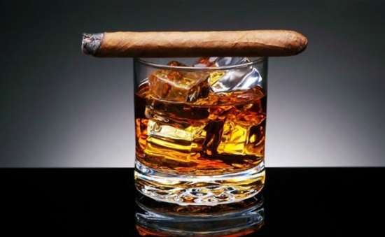 Scotch & Cigars go well together
