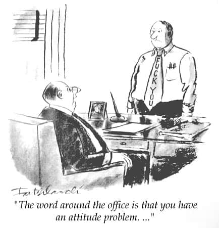 Save your humor for coworkers who will understand it for sure