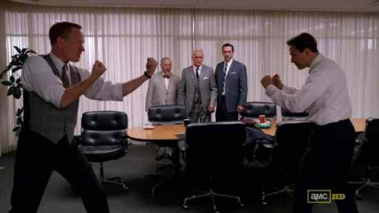 There are better ways to solve problems at the office - Don't imitate Mad Men