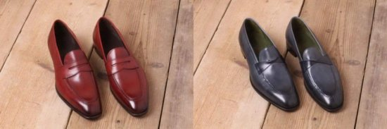 Monaco Penny Loafer & Variation by Gaziano Girling