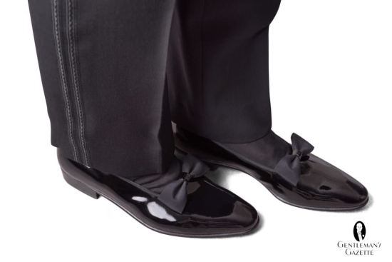 Opera pumps also known as court shoes