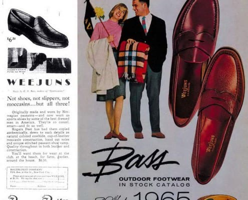 Penny Loafers - Rogers Peet Company & Bass Weejuns 1965