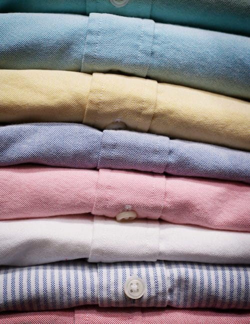 A selection of dress shirts