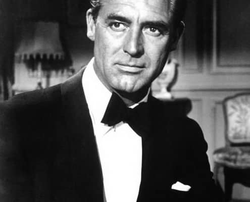 Indiscreet movie with Grant in black tie