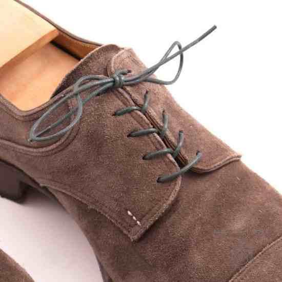 Dark Green shoelaces by Fort Belvedere