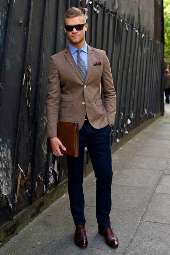 A perfect outfit for a casual Friday at the office