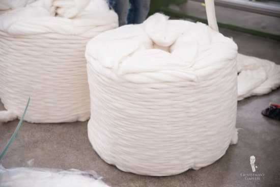 Cleaned Wool