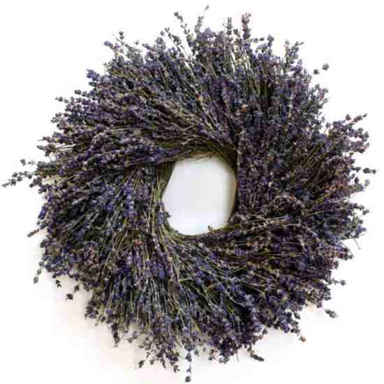 Lavender Wreath from Etsy