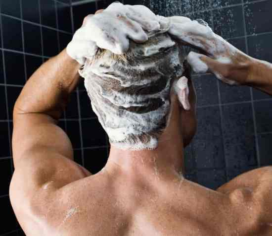 Take time to shampoo every few days