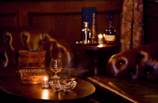 A beautiful lounge