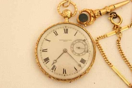 A vintage Vacheron _ Constantin pocket watch