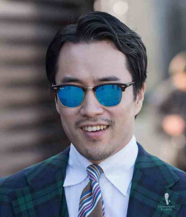 Clubmaster Sunglasses Browline Style Primer Gentleman