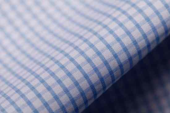 Checked Shirt Fabric - Ideal for Business Casual