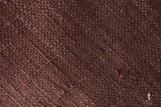 Tussah Silk in Brown