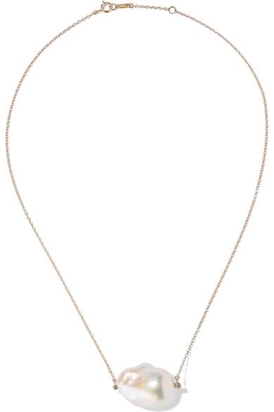 Mizuki Irregular Freshwater Pearl Necklace