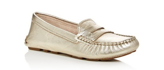 Sam Edelman Gold Filly Loafer