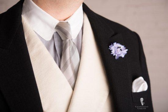Morning Coat Wedding Tie