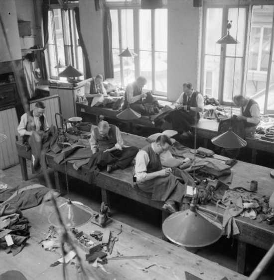 Savile Row Tailor Henry Poole c 1944