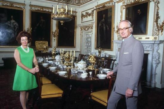 The Duke and Duchess at home