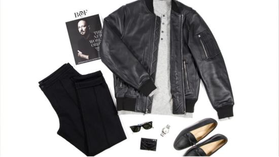 Outfit 4: Leather Jacket