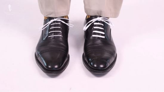 White round and flat Shoelaces by Fort Belvedere