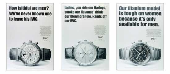 Some old IWC ads