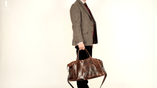 Sven Raphael's Leather Weekender
