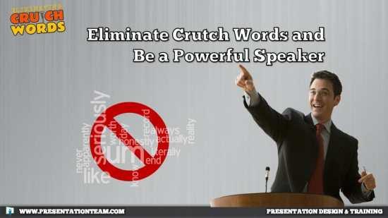 Crutch words, a bad habit