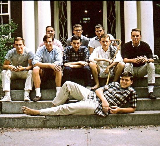 Preppy style shown by Dartmouth freshmen in 1964,