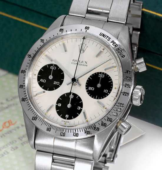 The first Daytona chronograph