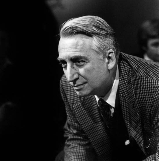 Roland Barthes in a houndstooth jacket