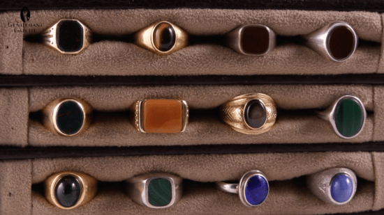 Sven Raphael's ring collection