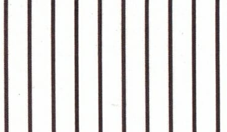 An example of pencil stripes in black.