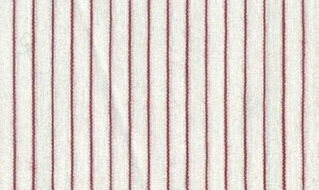 An example of pinstripes in red.