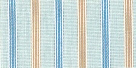 An example of bar stripes, in alternating blue and orange, on a grey background.