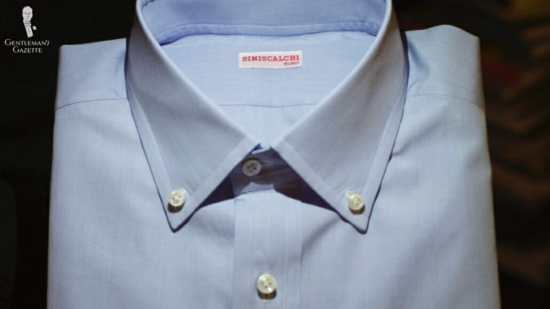 Siniscalchi in Milano bespoke dress shirt