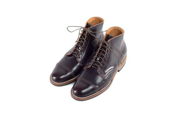 Vibergs Color 8 Work Boot in Shell Cordovan