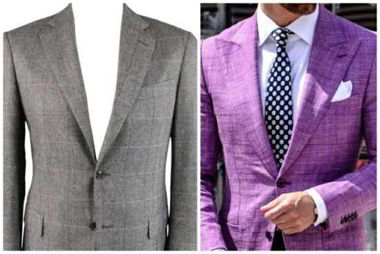 Two Purple Sport Coats