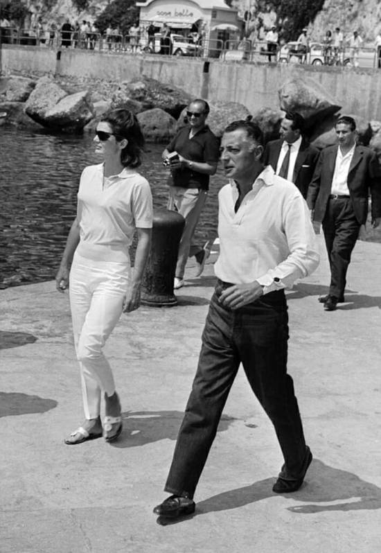 Gianni Agnelli Wearing Tod's