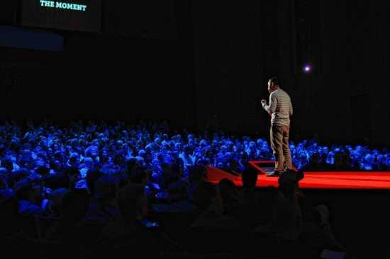 Photo credit: www.ted.com/talks  - Cesar Kuriyama speaks at TED2012