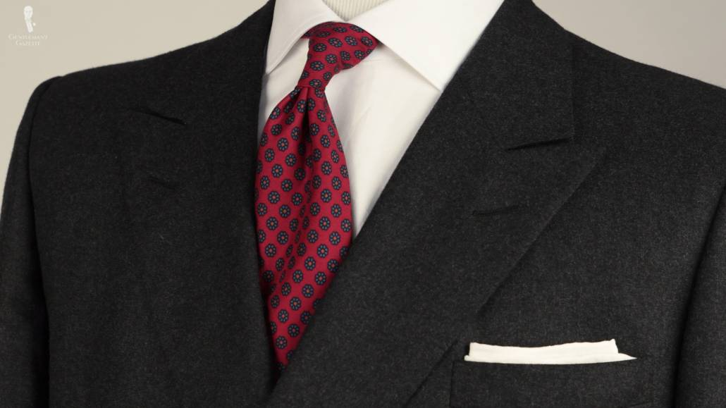 how to pair gray red in menswear