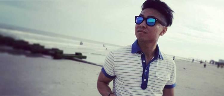 Sunglasses at the beach