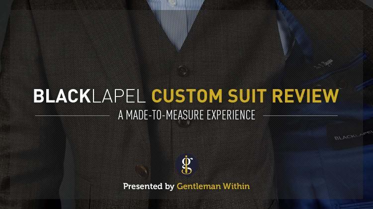 Black Lapel Charcoal Brown Check Suit