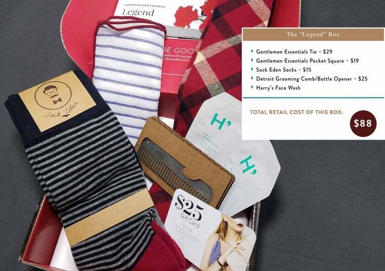 February Legend Box Products