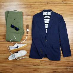 How To Wear A Navy Blue Blazer In The Spring | GENTLEMAN WITHIN