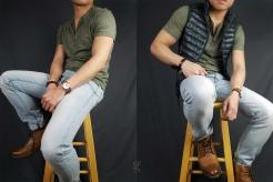 Henley (y-neck) and vest outfits | GENTLEMAN WITHIN
