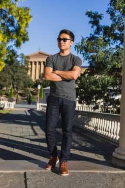 Minimal Streamlined T-Shirt | GENTLEMAN WITHIN